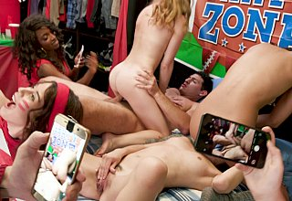No party like a teen orgy